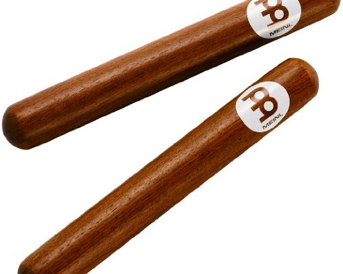 Meinl Percussion CL1RW Classic Solid Redwood Claves